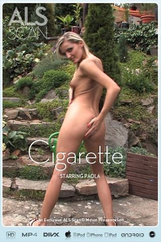 Paola - `Cigarette` - for ALS SCAN