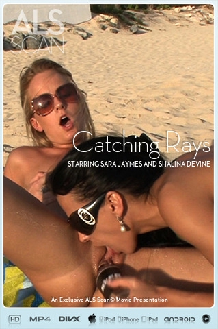 Sara Jaymes & Shalina Devine - `Catching Rays` - for ALS SCAN