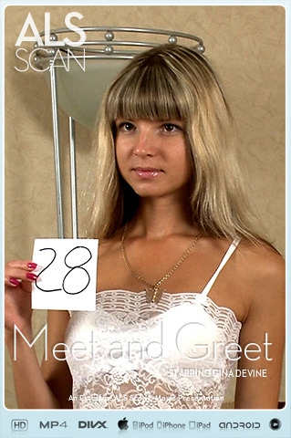 Gina Gerson - `Meet and Greet` - for ALS SCAN