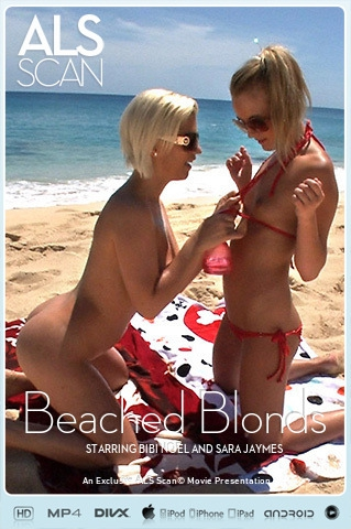 Bibi Noel & Sara Jaymes - `Beached Blonds` - for ALS SCAN