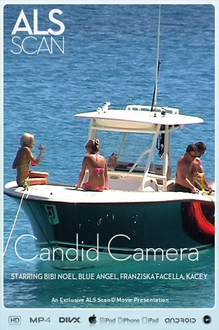 Bibi Noel & Blue Angel & Franziska Facella & Kacey Jordan & Sara Jaymes & Shalina Devine - `Candid Camera` - for ALS SCAN