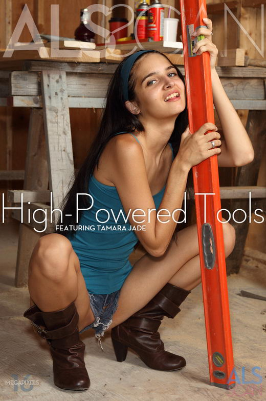 Tamara Jade - `High-Powered Tools` - for ALS SCAN