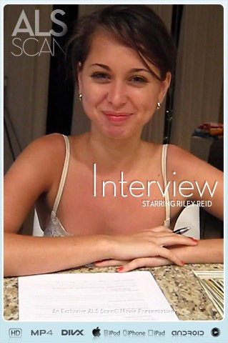Riley Reid - `Interview` - for ALS SCAN