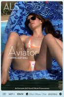 Judy Smile in Aviator video from ALS SCAN