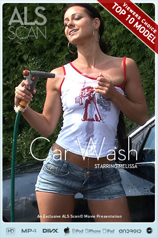 Melissa in Car Wash video from ALS SCAN