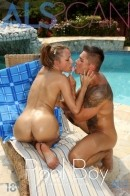 Leyla Black in Pool Boy gallery from ALS SCAN