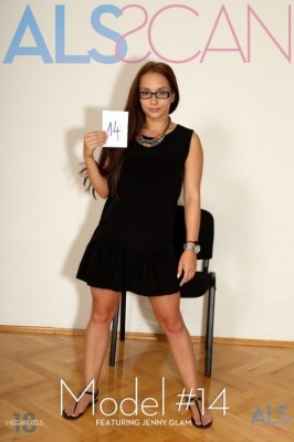 Jenny Glam  from ALS SCAN