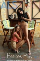 Daniella Rose & Gina Gerson in Petites Play gallery from ALS SCAN