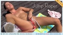 Eveline Dellai in Jump Roper video from ALS SCAN