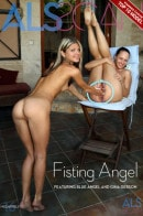 Blue Angel & Gina Gerson in Fisting Angel gallery from ALS SCAN
