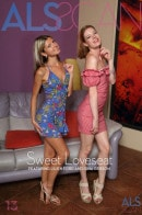Gina Gerson & Lilien Ford in Sweet Loveseat gallery from ALS SCAN