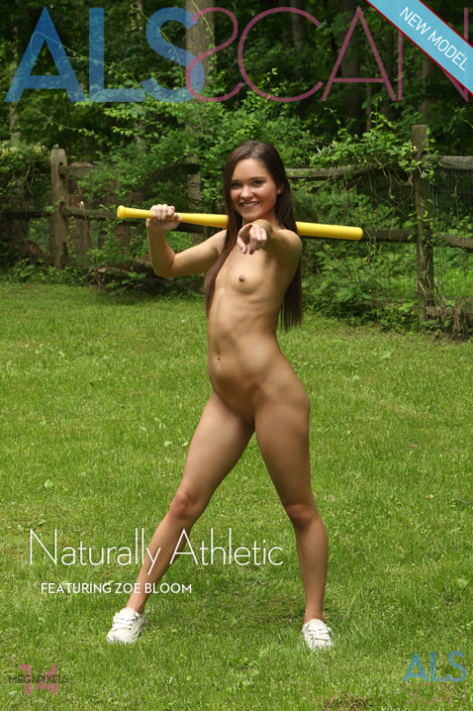 Zoe Bloom in Naturally Athletic gallery from ALS SCAN