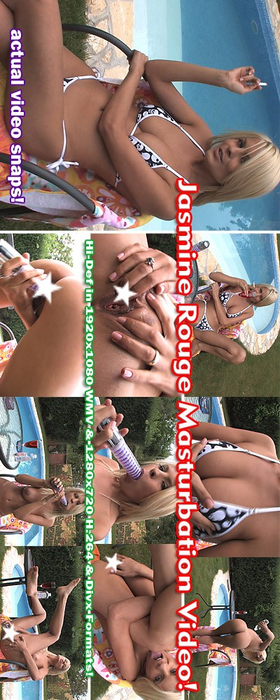 Jasmine Rouge - `Masturbation (Censored )` - for ALSANGELS