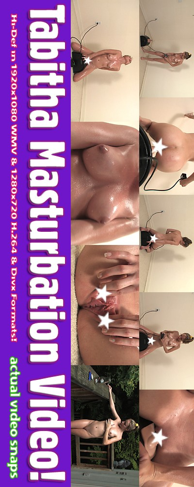 Tabitha - `Shoot #3 - Masturbation` - for ALSANGELS
