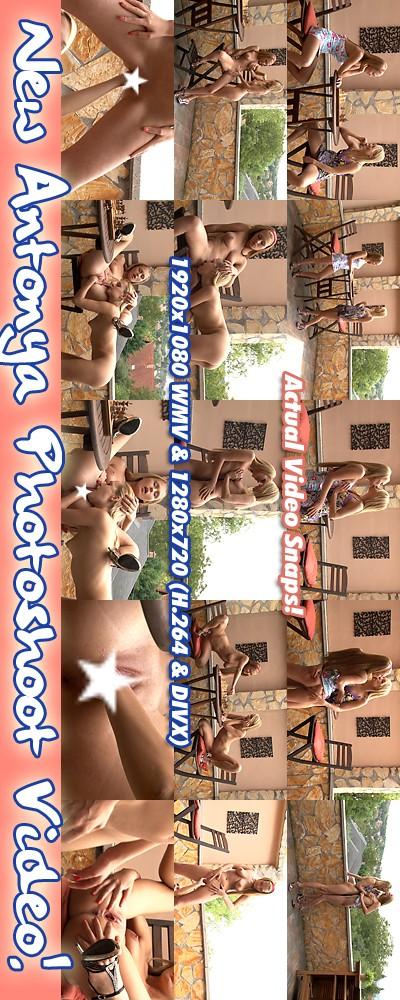 Antonya & Blue Angel - `Photoshoot ( Censored )` - for ALSANGELS