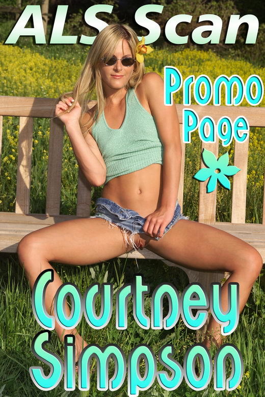 Courtney Simpson - `Promo Page` - for ALSSCAN