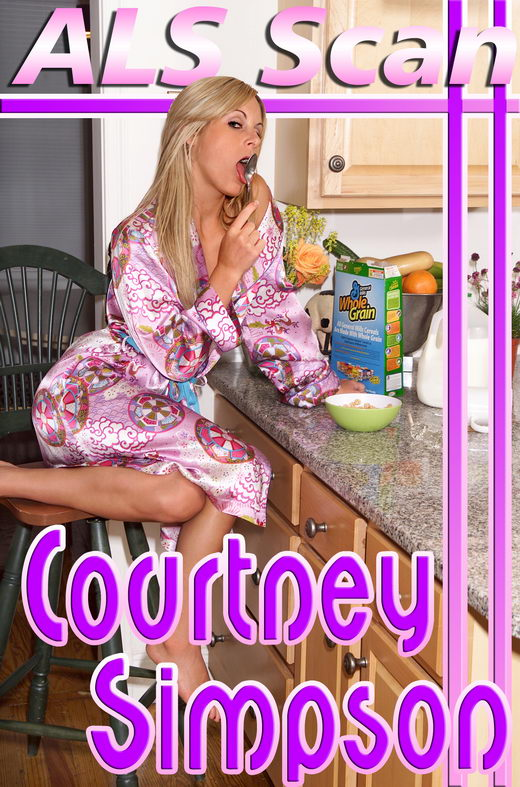 Courtney Simpson - `Kitchen Breakfast Mess - Set 1` - for ALSSCAN