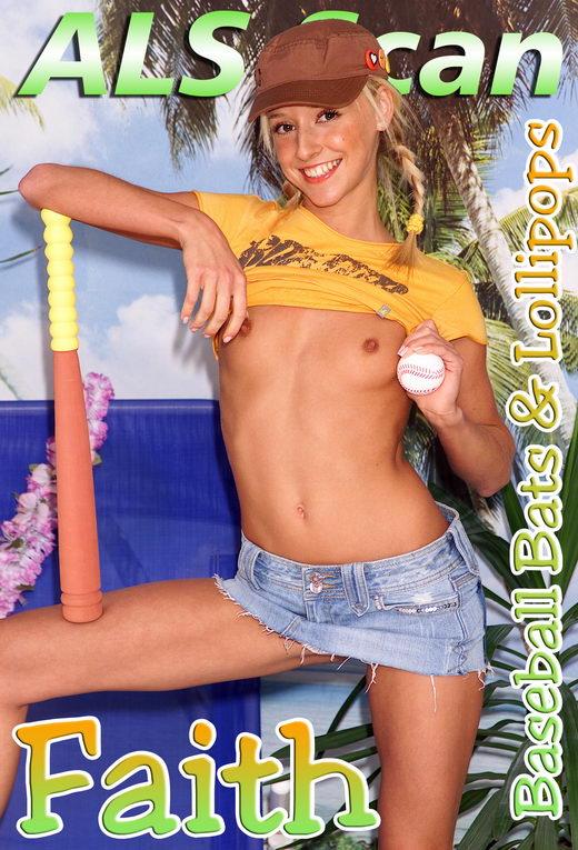 Faith - `Baseball Bats & Lollipops - Set1` - for ALSSCAN