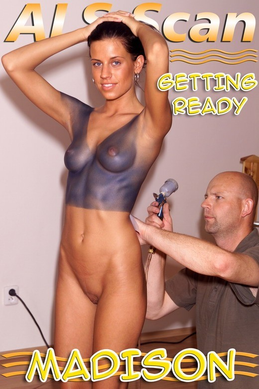 Madison - `Body Painting - Part 1` - for ALSSCAN
