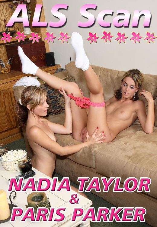 Nadia Taylor & Paris Parker - `Girl Friend's Movie Time - Set 2` - for ALSSCAN