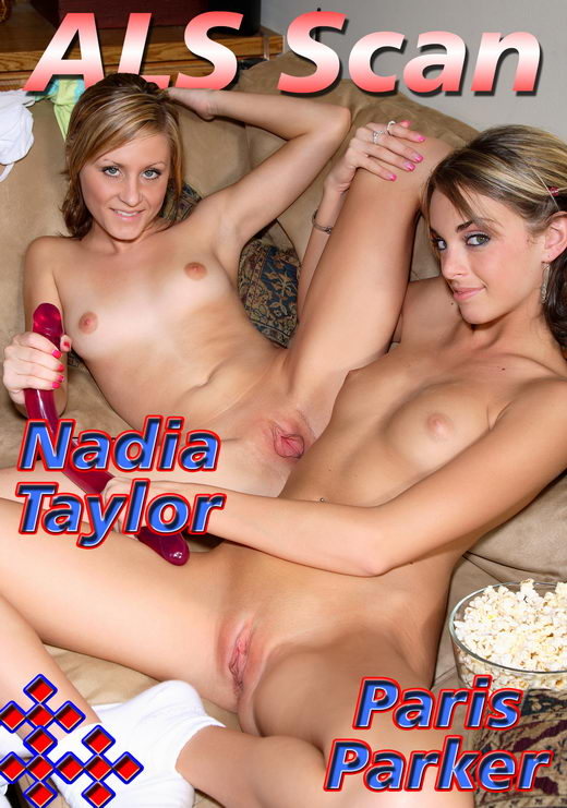 Nadia Taylor & Paris Parker - `Girl Friends Movie Time - Set 4` - for ALSSCAN