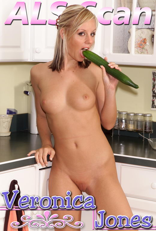 Veronica Jones - `Fun in the Kitchen - Set 3` - for ALSSCAN