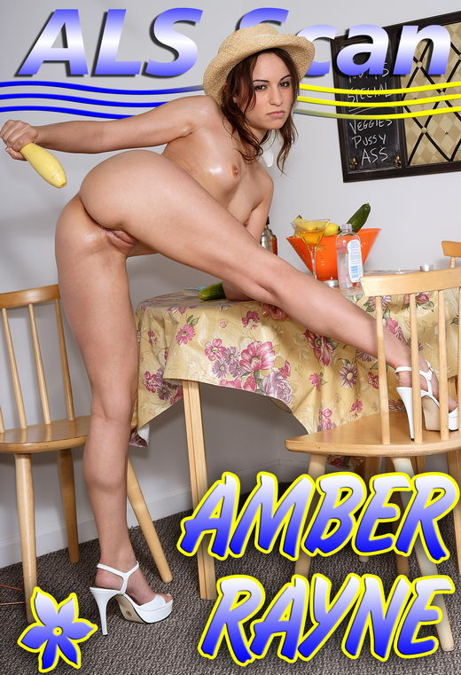 Amber Rayne - `Vegetarian Cafe - Set 3` - for ALSSCAN