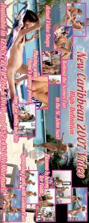 Carli & Faith & Zuzana & Amy Lee - Caribbean '07 - BTS