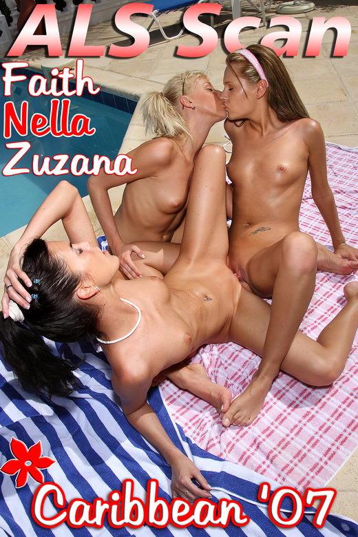 Zuzana & Faith & Nella - `Caribbean '07 - Set 2` - for ALSSCAN