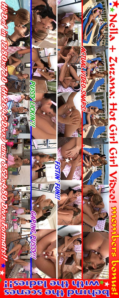 Nella & Zuzana - `Caribbean '07 - Girl-Girl Action` - for ALSSCAN