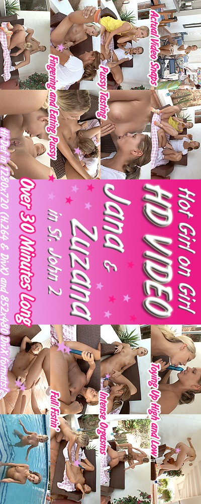 Jana & Zuzana - `Caribbean '07 - Girl-Girl Action` - for ALSSCAN