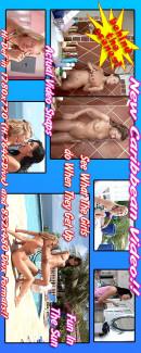 Nella & Faith & Zuzana & Carli - Caribbean '07 - BTS & P'ing