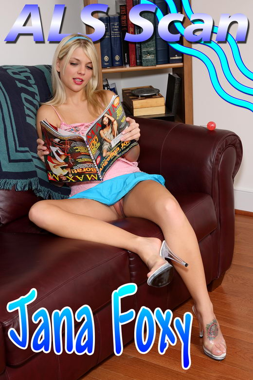 Jana Foxy - `Sugar Snatch - Set 1` - for ALSSCAN