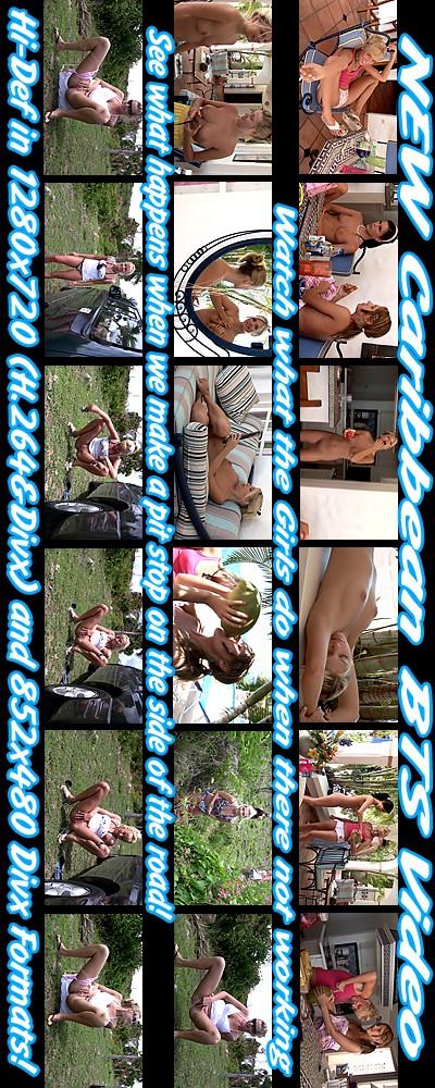 `Caribbean '07 - BTS ( Uncensored )` - for ALSSCAN