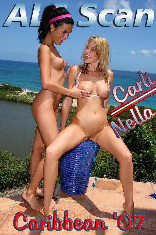 Carli & Nella - `Caribbean '07` - for ALSSCAN