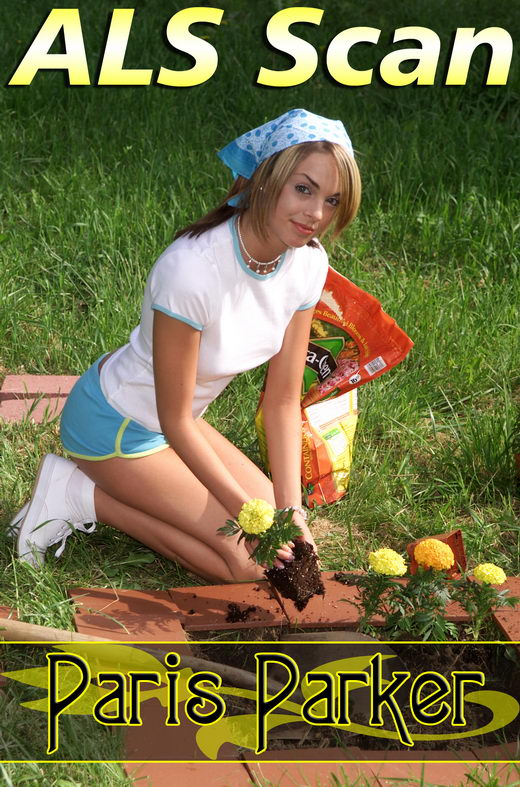 Paris Parker - `Morning Gardening` - for ALSSCAN
