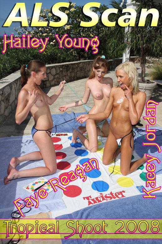 Hailey Young & Kacey Jordan & Faye Reagan - `Tropical '08` - for ALSSCAN