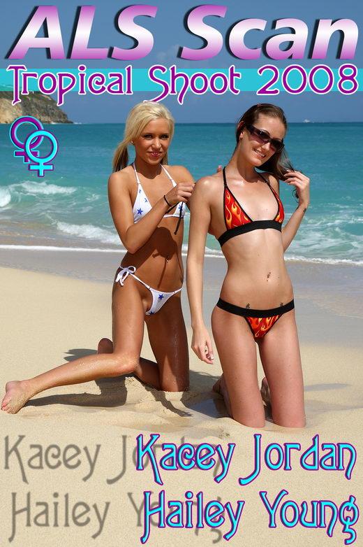 Kacey Jordan & Hailey Young - `Tropical '08` - for ALSSCAN