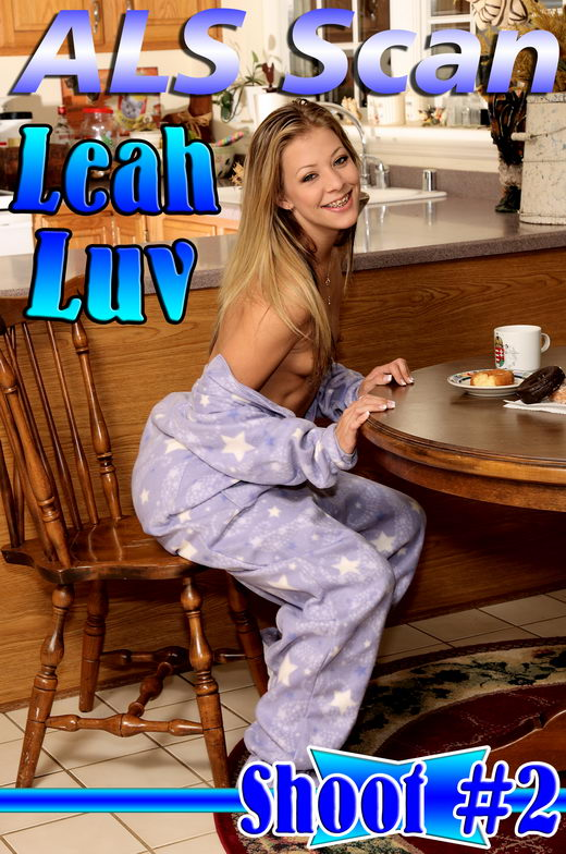 Leah Luv - `Morning Panty Stuffing` - for ALSSCAN
