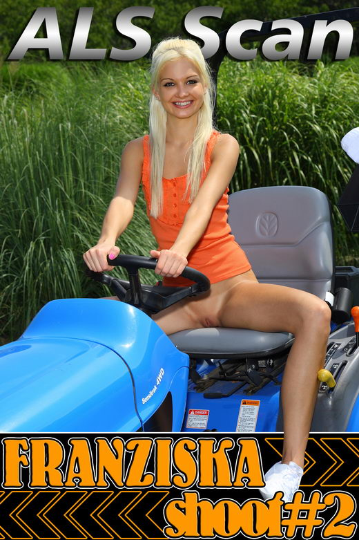 Franziska - `Ride-on with Franziska` - for ALSSCAN
