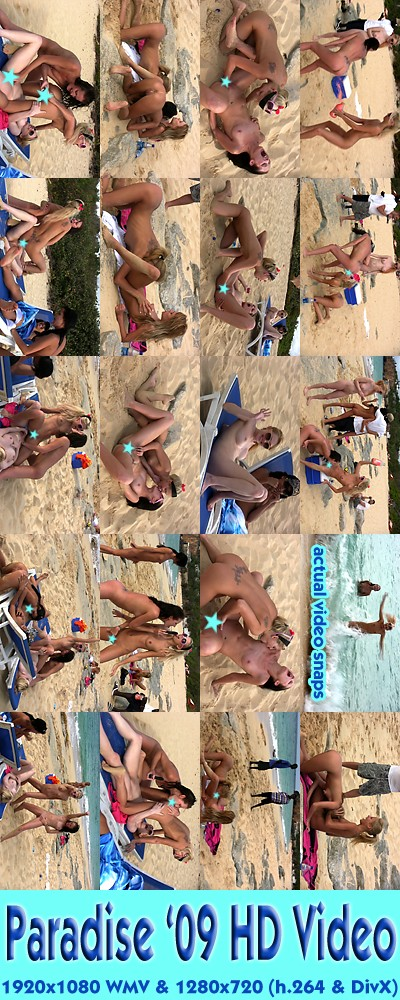 Jana Foxy & Hailey Young & Anita Pearl & Blue Angel & Jayme Langford - `Paradise '09 - Girl-Girl Action & BTS ( Censored )` - for ALSSCAN