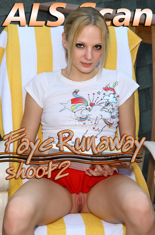 Faye Runaway - `Enjoying the View` - for ALSSCAN