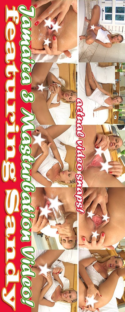 Sandy - `Jamaica 3 - Masturbation` - for ALSSCAN