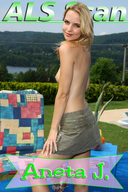 Aneta J - `Out Back with Nella` - for ALSSCAN