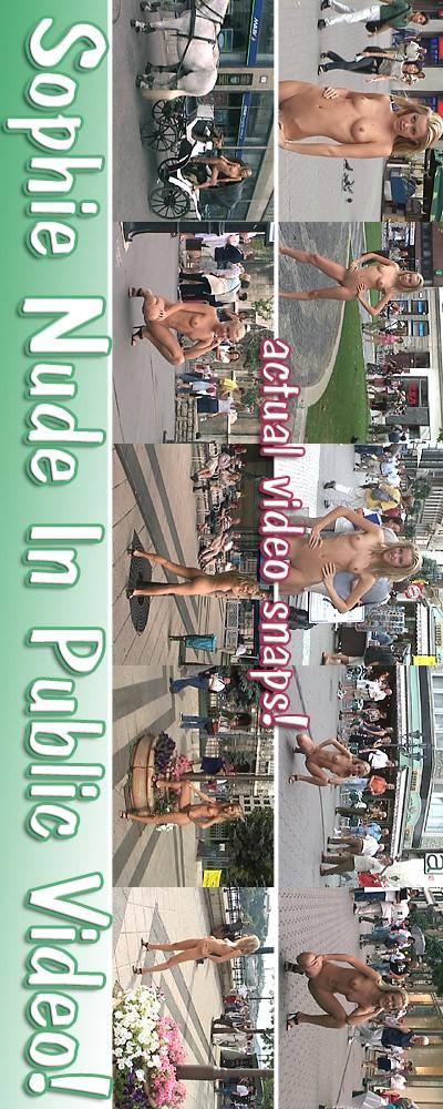 Sophie - `Public Nudity` - for ALSSCAN
