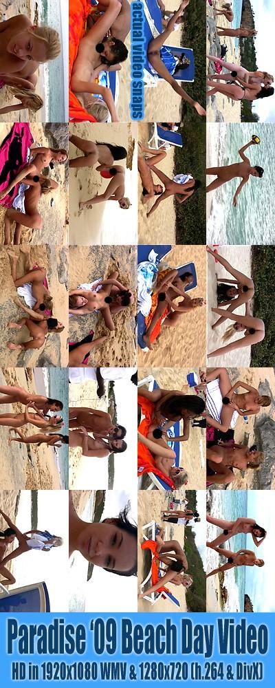 `Paradise '09 Ladies - Public Beach Fun & BTS ( Censored )` - for ALSSCAN