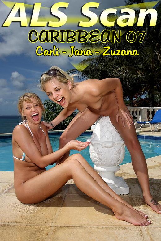 Carli & Jana & Zuzana - `Caribbean 07` - for ALSSCAN