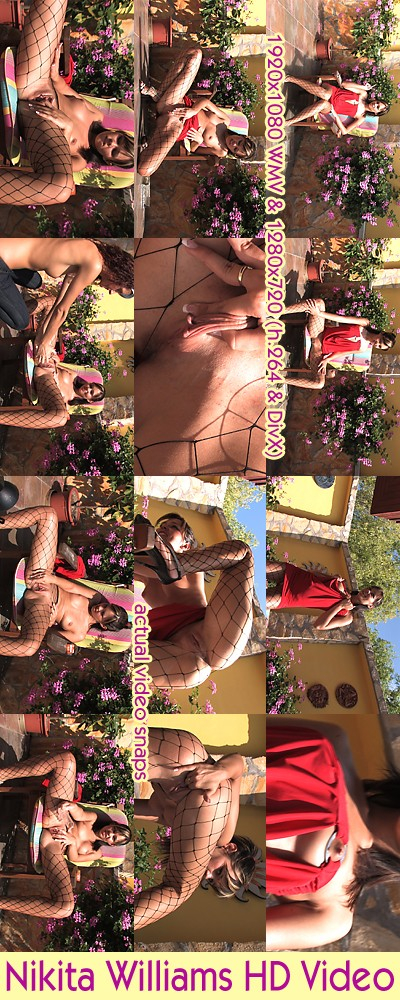Nikita Williams in Photshoot ( Uncensored ) video from ALSSCAN