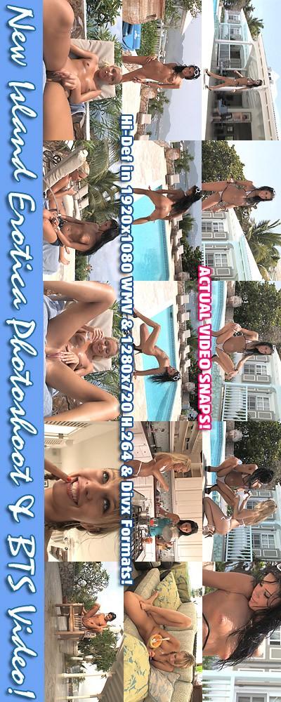 Kacey Jordan & Tanner Mayes - `Island Erotica - BTS` - for ALSSCAN