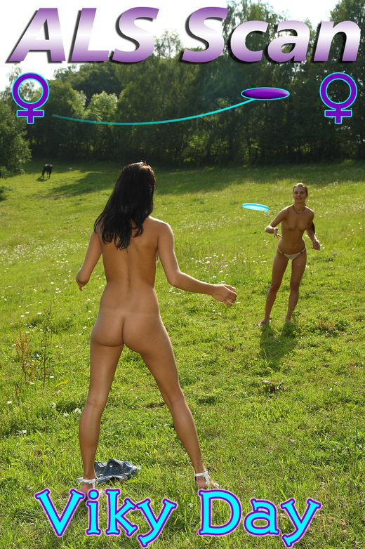 Viky Day - `Grazing Girls` - for ALSSCAN